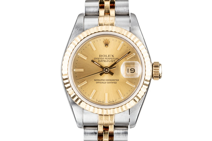 1991 Rolex Ladies Two Tone DateJust 69173 photo