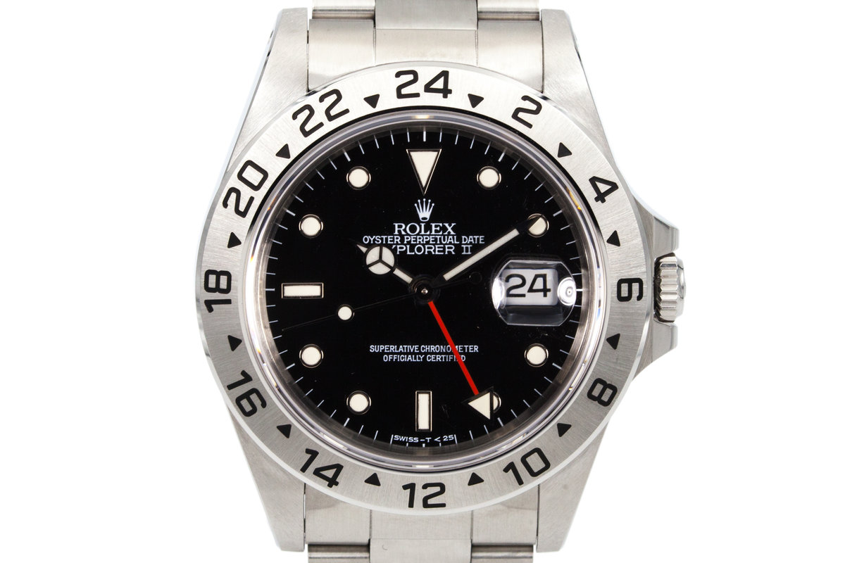 1993 Rolex Explorer II 16570 Black Dial photo, #0