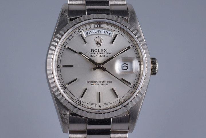 1995 Rolex WG Day-Date 18239 photo