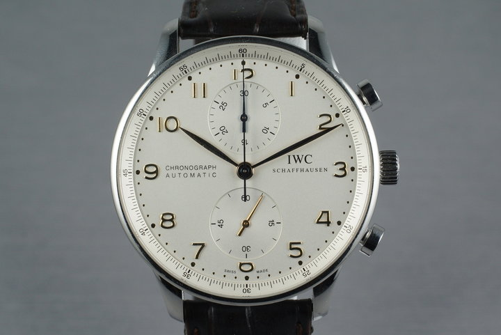 IWC Portuguese IW371401 with Box and Papers photo