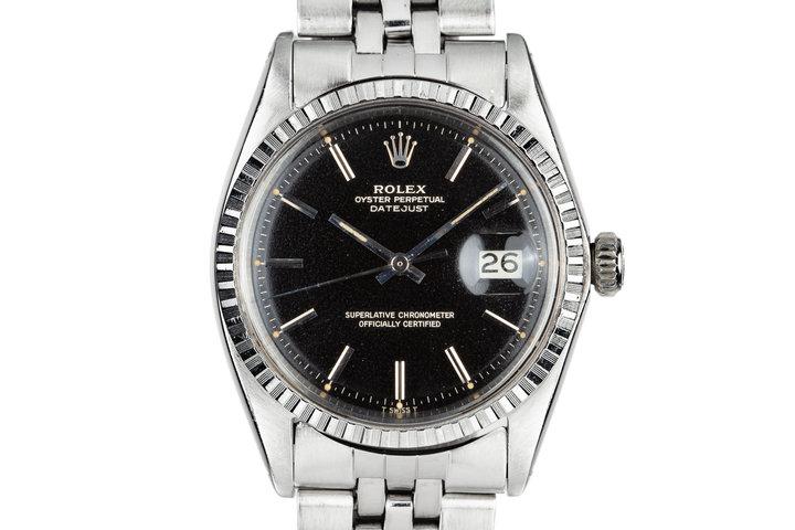 1968 Rolex DateJust 1603 Gilt Dial photo