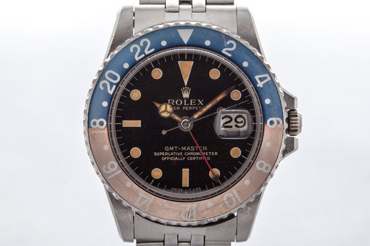 1965 Rolex GMT 1675 with Gilt Dial  photo