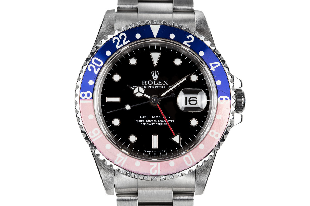 "1995 Rolex GMT-Master 16700 with Faded ""Pepsi"" Bezel photo, #0"