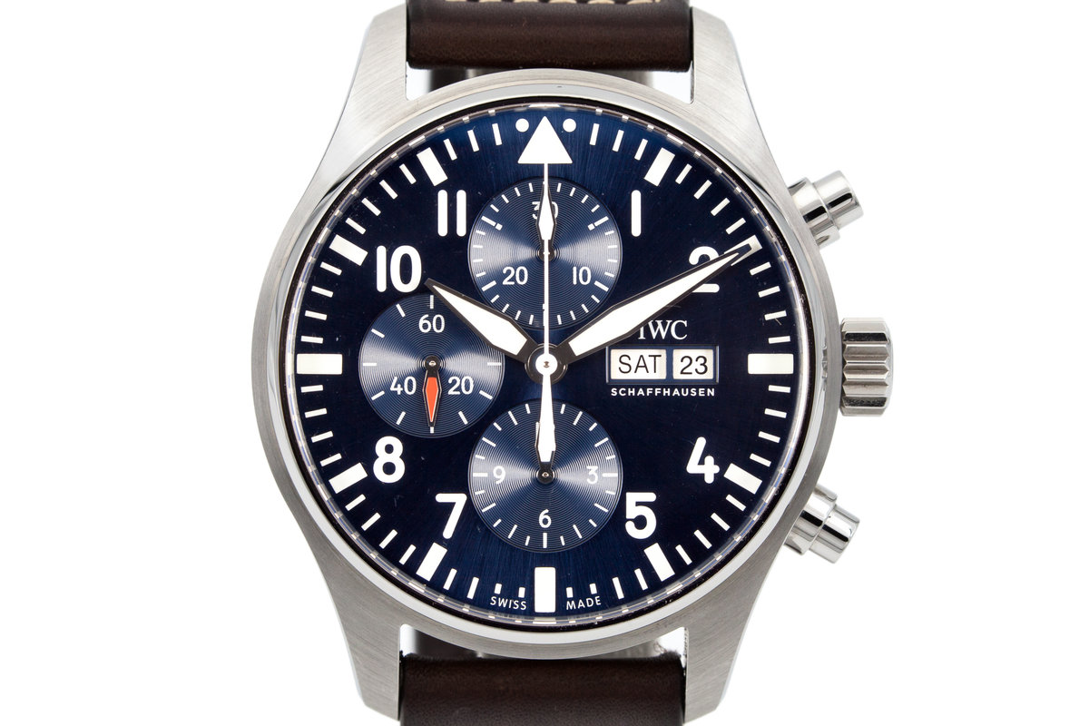 2016 IWC Pilot's Chronograph IW377714 with Box and Papers photo, #0