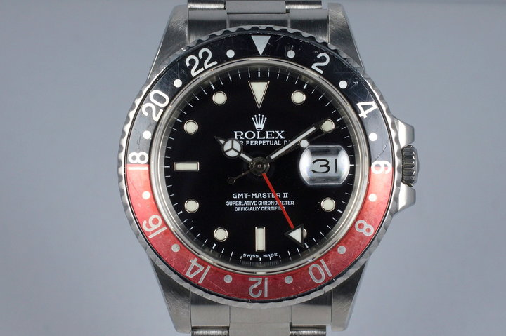 1988 Rolex Fat Lady GMT II 16760 Service Dial photo