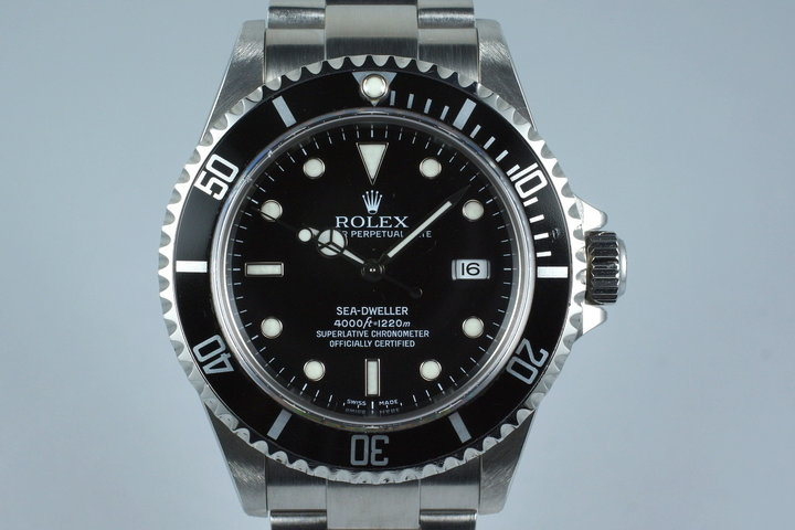 2005 Rolex Sea Dweller 16600T with Box and Papers photo