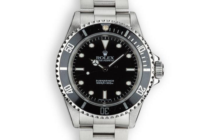 1990 Rolex Submariner 14060 photo
