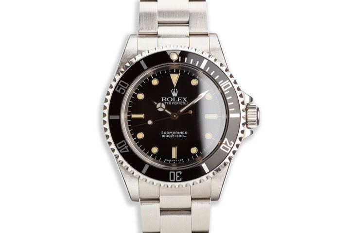1991 Rolex Submariner 14060 Unpolished photo