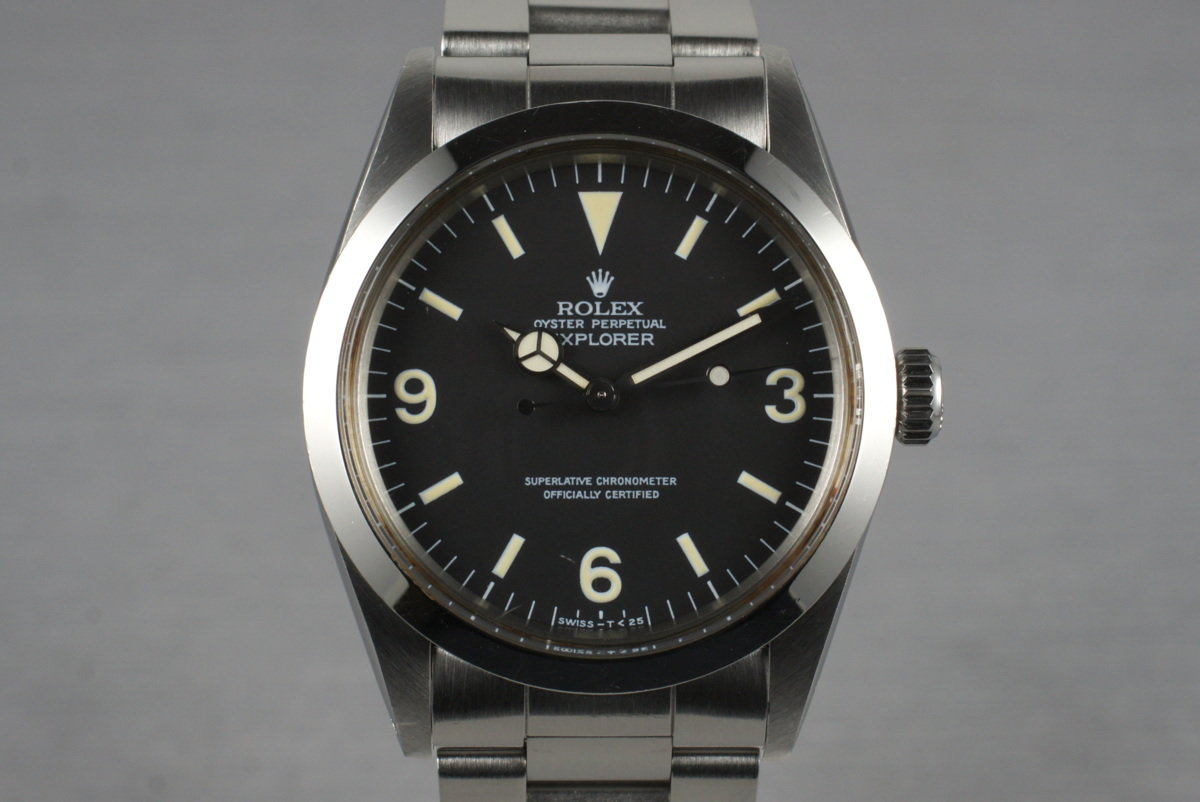 Rolex Explorer 1 1016 with Japanese RSC Papers photo, #0