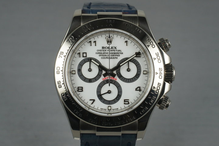 2006 Rolex 18K WG Daytona 116519 with Box photo