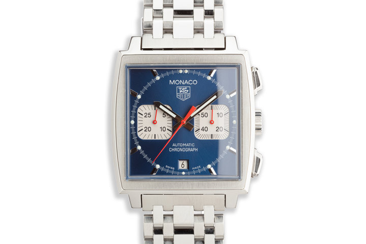 2012 Tag Heuer Monaco CW2113-0 with Box Papers & Service Papers photo