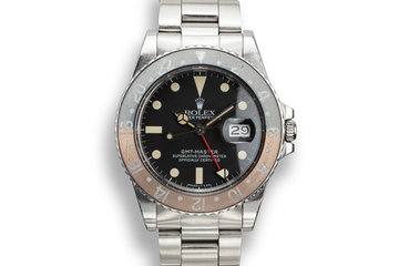 "1984 Rolex GMT-Master 16750 ""Pepsi"" Matte Dial photo"