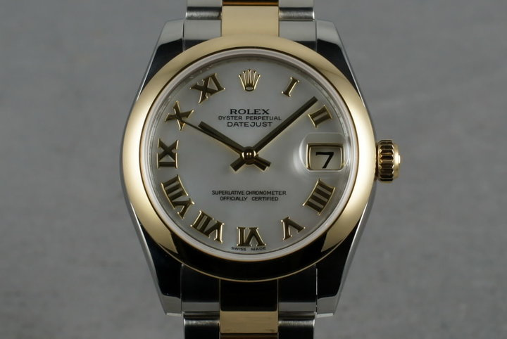 2006 Rolex Midsize 18K/SS  Datejust 178243 with Box and Papers photo