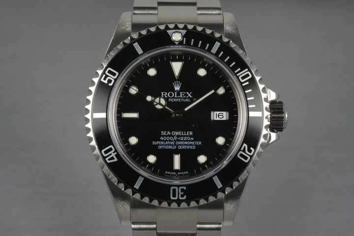 2003 Rolex Sea Dweller 16600T photo