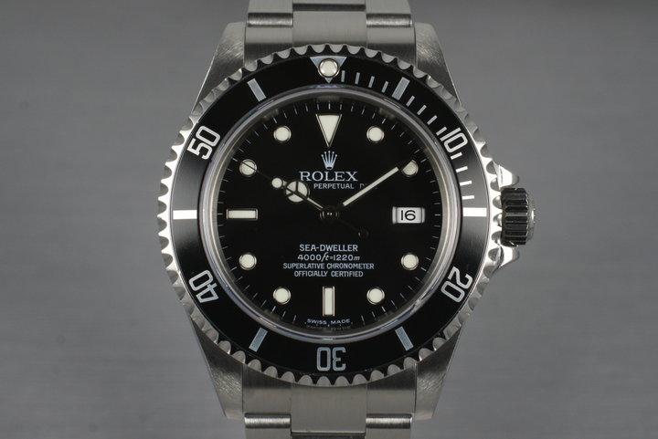 2003 Rolex Sea Dweller 16600T photo