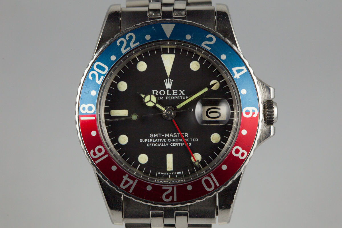 1966 Rolex GMT 1675 Mark 0 Dial photo, #0