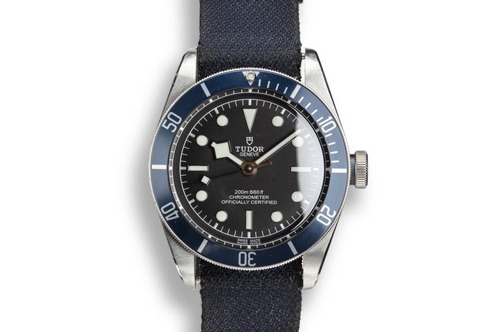 2018 Tudor Black Bay 79238 Blue Bezel with Box and Papers photo