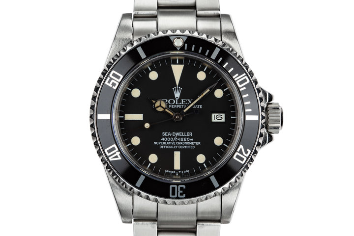 1980 Rolex Sea-Dweller 16660 with Matte Dial photo