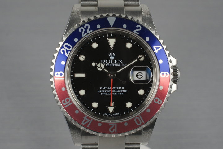 2005 Rolex GMT Master II 16710T photo