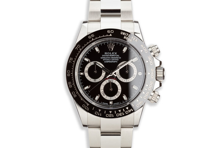 2018 Rolex Daytona 116500LN Black Dial with Box and Card photo