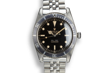 1958 Rolex Submariner 5508 with Gilt Dial photo