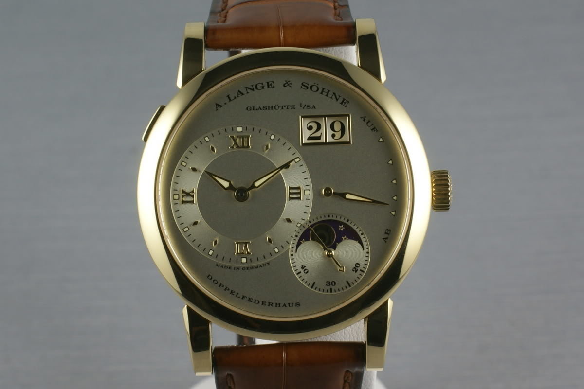 A. Lange & Sohne YG 109.021 Lange 1 Moonphase photo, #0