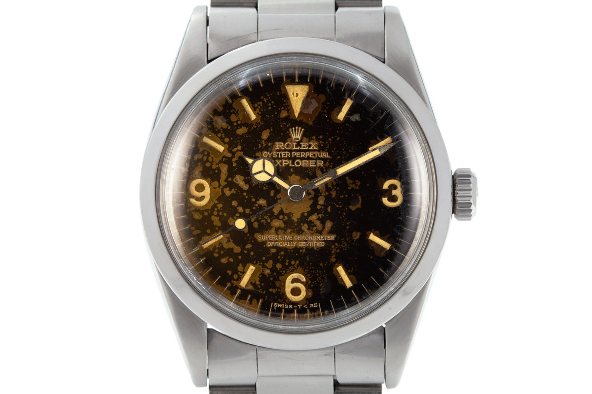 1965 Rolex Explorer 1016 with Tropical Gilt Dial photo, #0