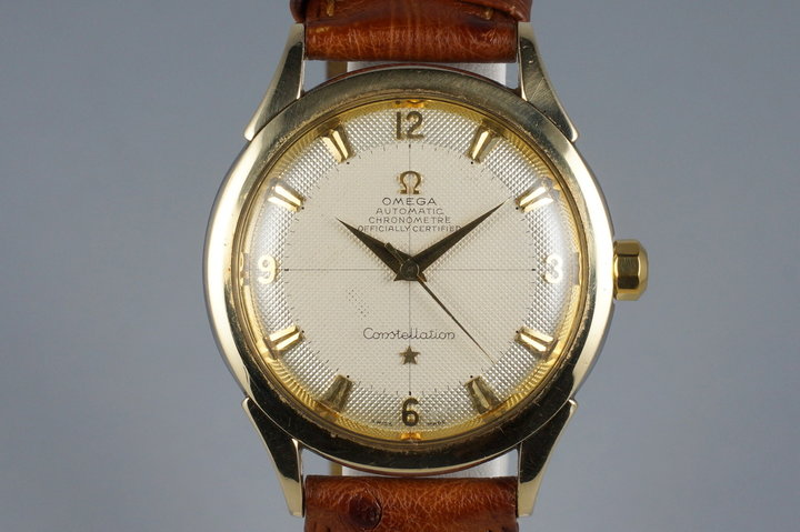 1950's Omega Gold Shell Constellation 2652-5 Calibre 354 photo