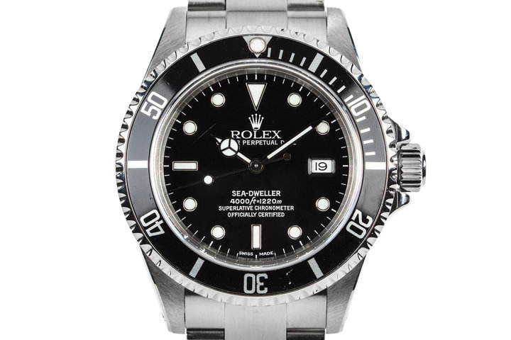2000 Rolex Sea-Dweller 16600 with Box and Papers photo