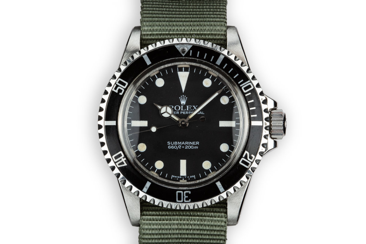 1983 Rolex Submariner 5513 with Mark V Maxi Dial photo, #0