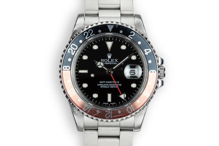 "1990 Rolex GMT-Master II 16710 ""Coke"" photo"