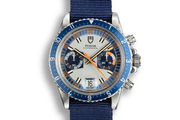 1972 Tudor Monte Carlo 7169/0 Blue Dial photo