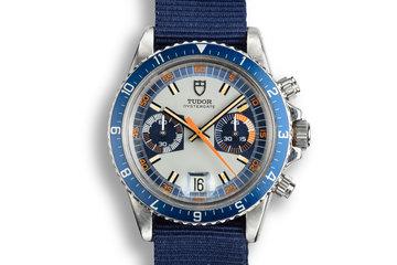 1972 Tudor Monte Carlo 7169/0 Blue Dial photo