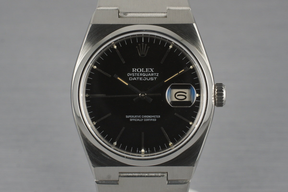 1980 Rolex OysterQuartz Datejust 17000 photo, #0