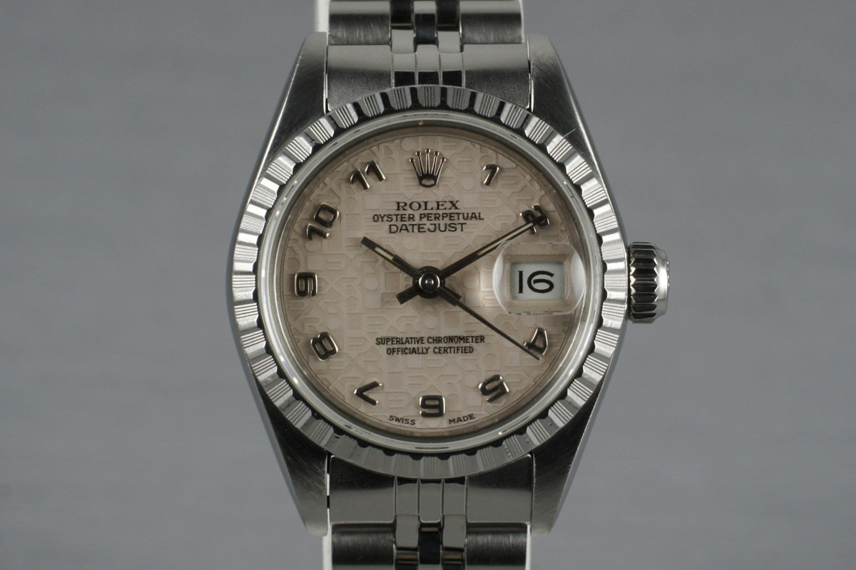 1988 Rolex Ladies Datejust 69240 with Arabic Jubilee Dial photo, #0