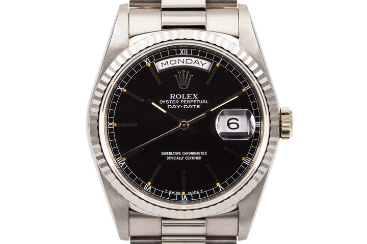 1991 Rolex WG Day-Date 18239 photo
