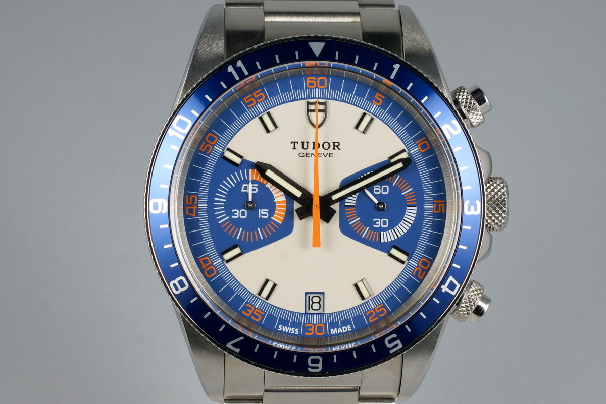 2014 Tudor Heritage Chrono 70330 with Box and Papers photo, #0
