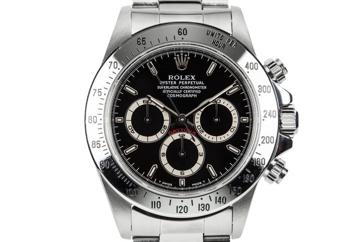 1997 Rolex Daytona 16520 Black Dial photo