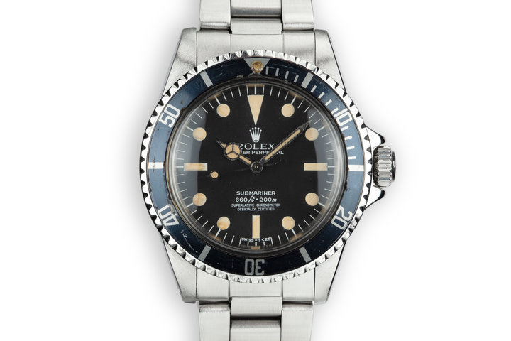 1964 Rolex Submariner 5512 with Newer Serif Dial photo