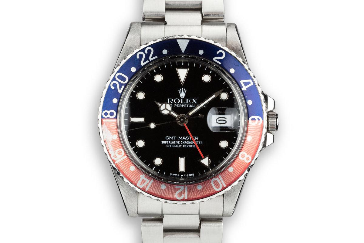 """1988 Rolex GMT-Master 16750 """"Pepsi"""" photo, #0"""