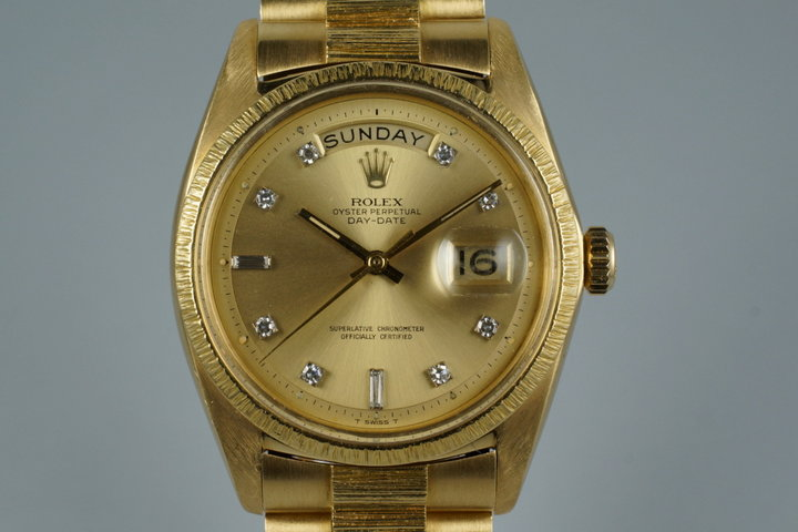 1968 Rolex YG Day-Date 1807 photo