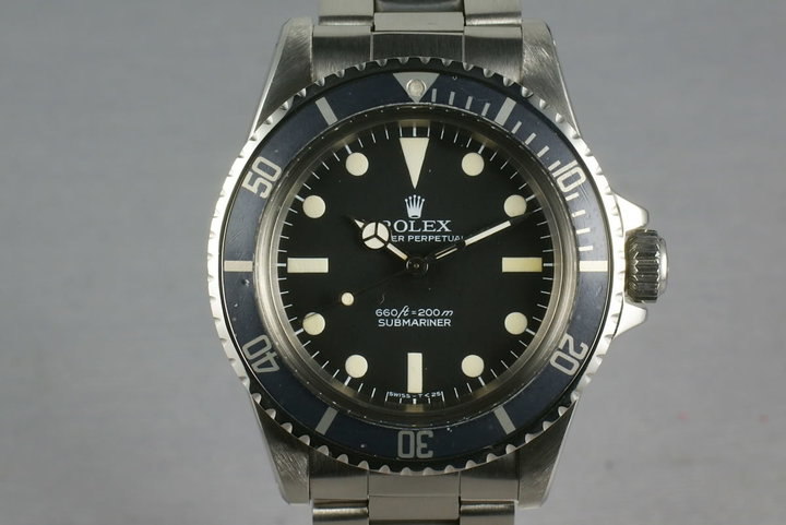 Rolex Submariner 5513 Pre-Comex Dial photo