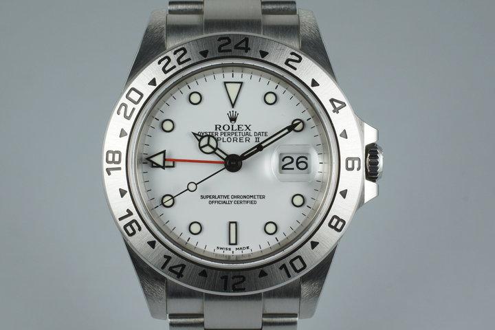 2003 Rolex Explorer II 16570 photo