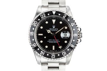 1991 Rolex GMT-Master 16700 Black Bezel photo