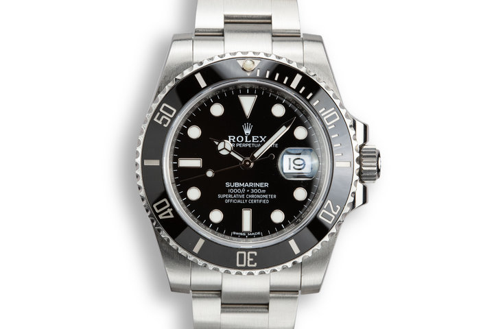 2017 Rolex Ceramic Submariner 116610 with Hang Tags photo