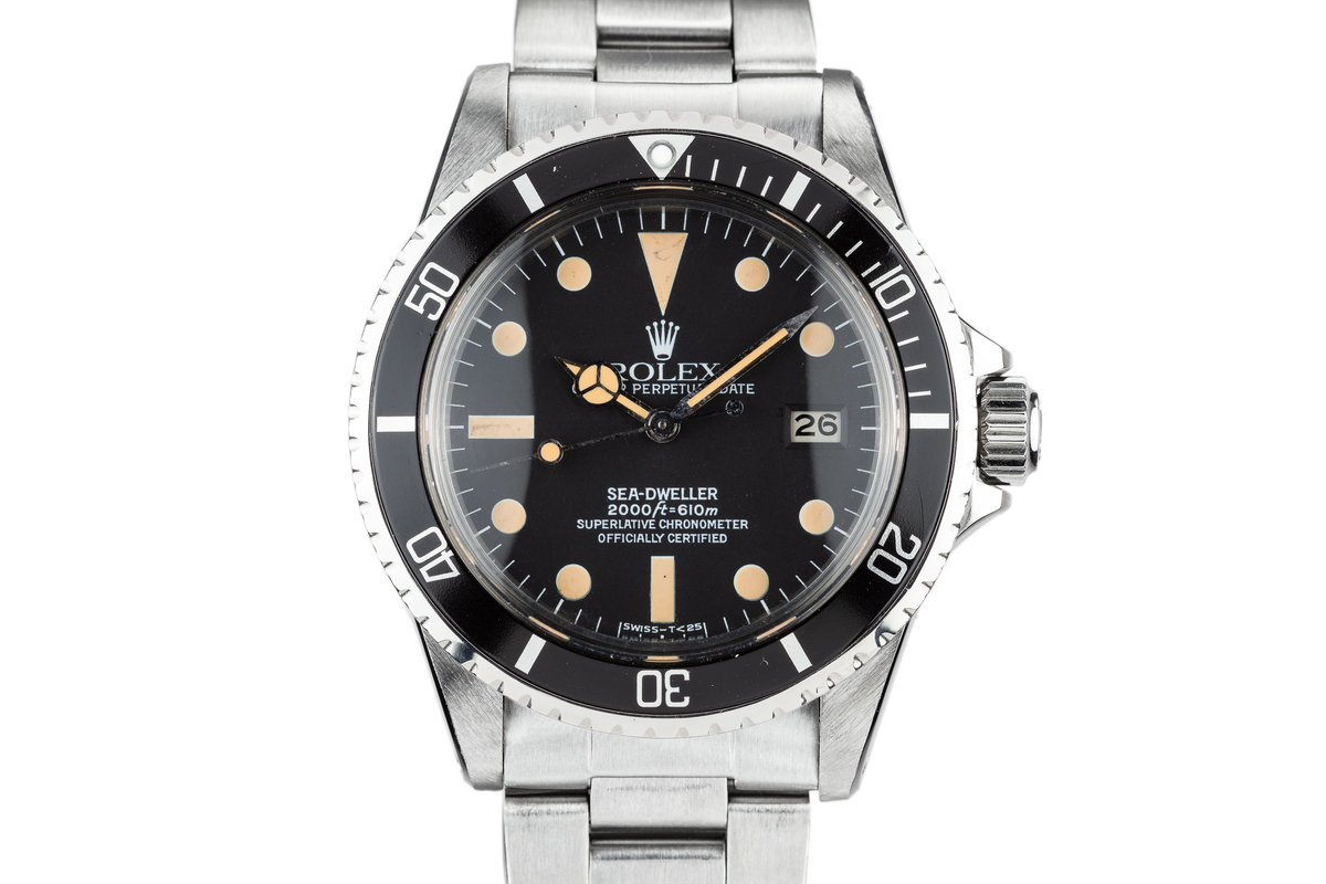 1981 Rolex Sea-Dweller 1665 with Box and Papers photo, #0