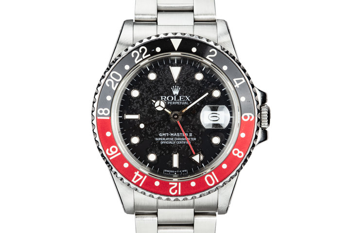 "1988 Rolex GMT-Master II 16760 ""Fat Lady"" with Static Patina Dial and ""Coke"" Insert photo"