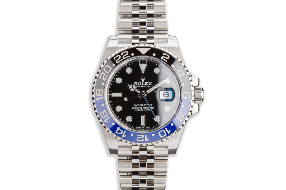"2020 Rolex GMT-Master II 126710BLNR ""Batman"" with Box and Card photo, #0"
