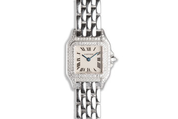 Panthère de Cartier Mini 18k WG Ladies Watch with Diamond Bezel & Case photo