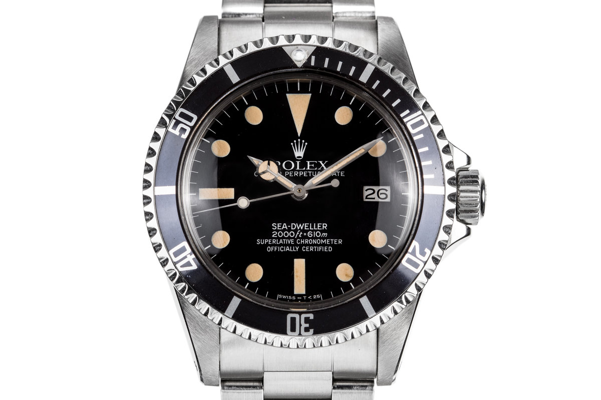 1983 Rolex Sea-Dweller 1665 photo, #0